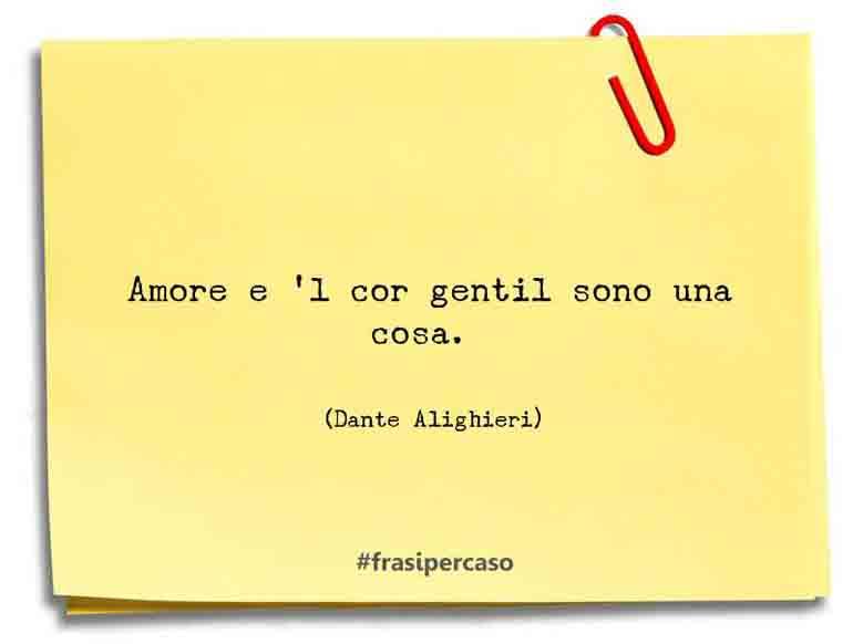Frasi Matrimonio Dante.Dante Alighieri