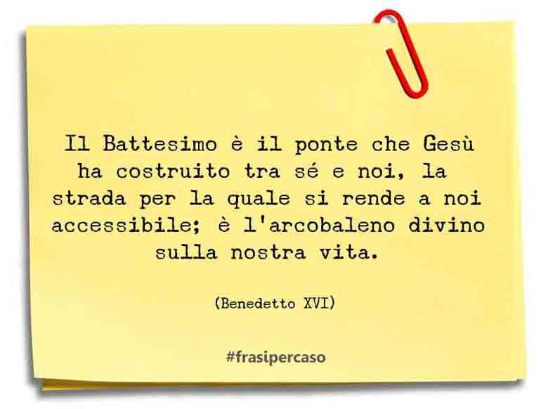 Una citazione di Benedetto XVI by FrasiPerCaso.it