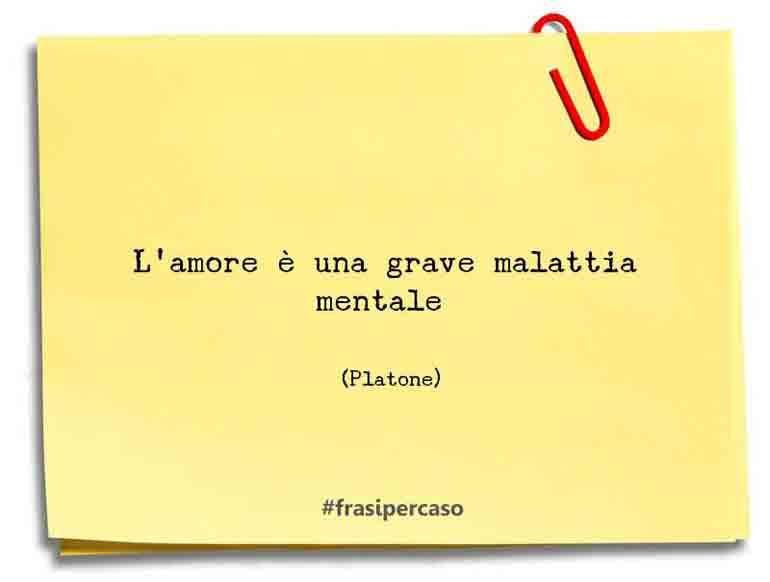 Frasi Platone Amore