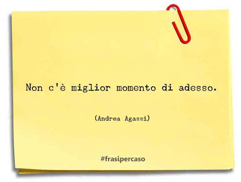 Una citazione di Andrea Agassi by FrasiPerCaso.it