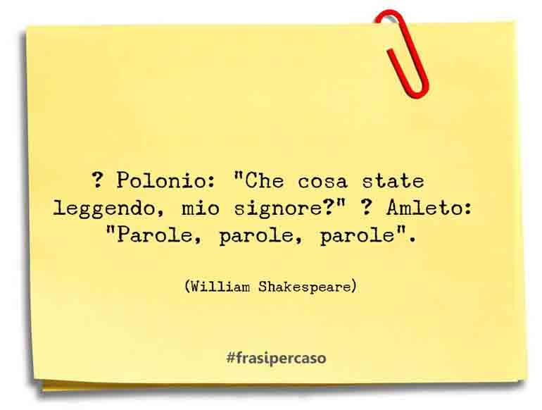 � Polonio: