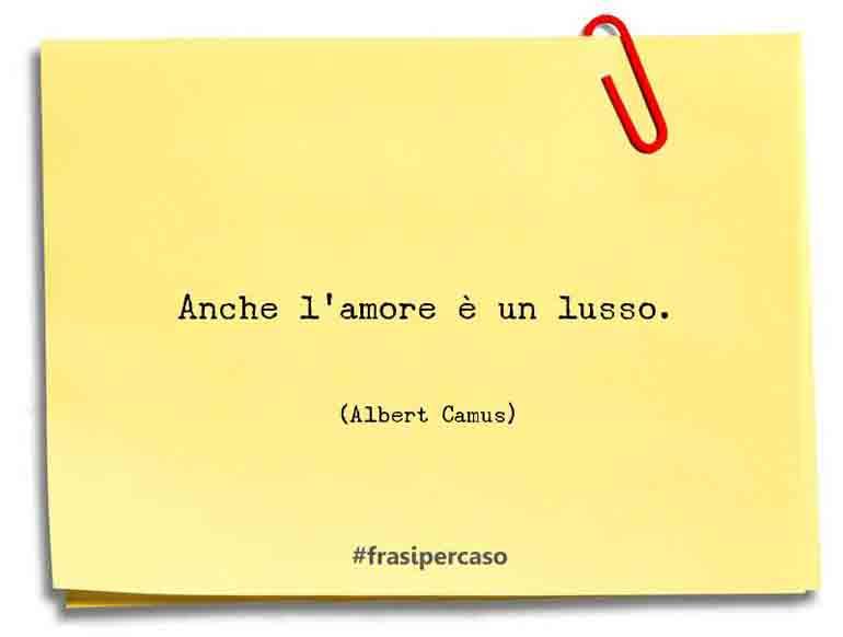 Una citazione di Albert Camus by FrasiPerCaso.it