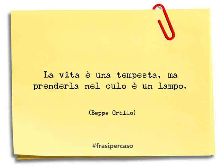 Una citazione di Beppe Grillo by FrasiPerCaso.it